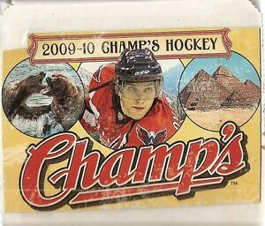 2009-2010 UD Champs Hockey Base Set (100 cards)