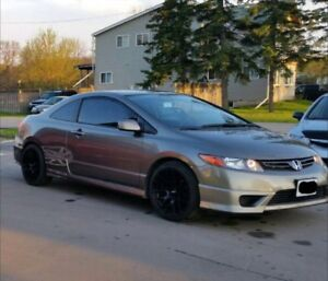 2008 Honda Civic LX-SR Coupe with lots of Upgrades