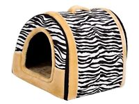 Mixse Cozy 2-in-1 Pet house & Sofa Non-Slip Dog Cat Igloo Bed Large