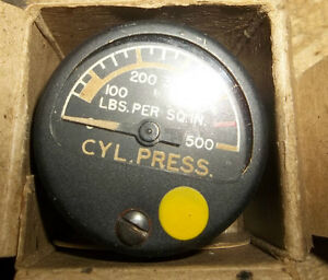 3 - CYLINDER PRESSURE GAUGES  0 to 500 lbs. NEVER USED Belleville Belleville Area image 6