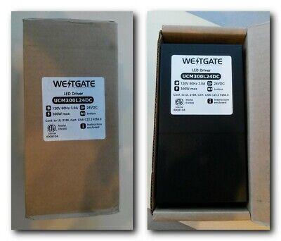 Westgate Ucm300l24dc Led Driver Dimmable Indoor Magnetic Transformer 300w 24v Dc