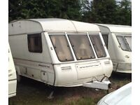 Scorpio Bailey 4 Berth Caravan with Awning