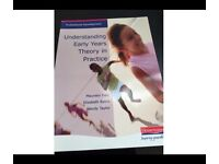 BRAND NEW - NEVER USED - Understanding Early Years Theory in Practise