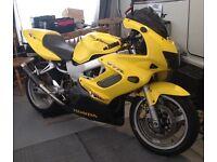 Honda Vtr 1000 firestorm 2002 loads of extras! 12 months mot!