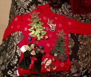 Handmade ugly Christmas sweater