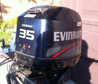 1996 Evinrude 35hp Long-Shaft Outboard Motor