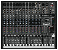 16 Channel Mackie ProFX16 4-Bus Mixer USB Effects