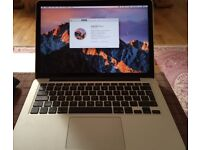 Macbook Pro 13 2015 Model with Upgraded specs, 13 month Official Warranty. Excellent Condition