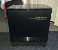 """Huge 12"""" Active Subwoofer from PioneerS-W1000"""