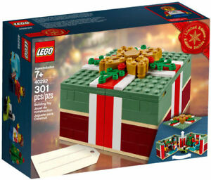 ** new sealed LEGO set 40292 Christmas Holiday Gift Box Winter
