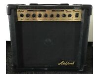 ARIA PRO 2, 30 Watt black portable electric guitar amp