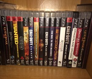 I'm looking to sell my PS3 games for $30 obo per game