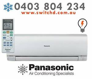 Panasonic 2.5 KW AC fully installed $1250 (after cashback) Glen Waverley Monash Area Preview