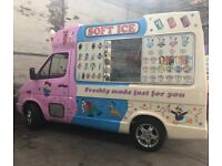 Genuine Whitby Morrisons Ice Cream Van For Sale