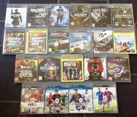 Various PS3 Games
