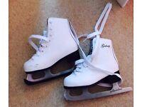 Children ice skating boots