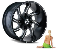 "20"" TWISTED /Includes Hardwear and Hub Rings 6-135/6-139.7"