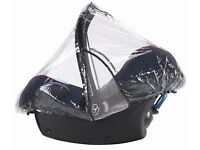 Maxi Cosi raincover for Cabriofix & Pebble car seat EXCELLENT