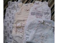 Unisex baby sleep suits/bags