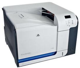 HP Color LaserJet CP3525n Printer Network