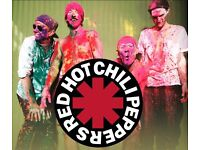 2 Standing Tickets Red Hot Chili Peppers Concert Dublin