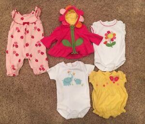 Preemie girls clothing in excellent condition- Gymboree