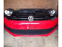 Volkswagen polo front end