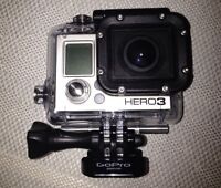 Go pro hero 3 with lots of extras