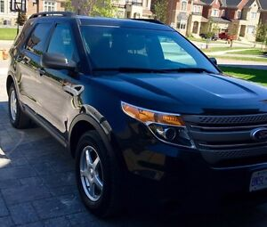 2013 Ford Explorer Grey Cloth SUV, Crossover