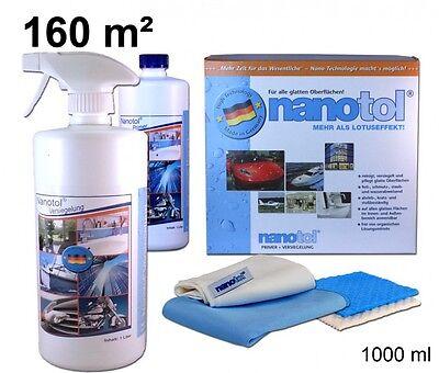 nanotol Kombi Set 1000 ml für 160 m² - Nanoversiegelung für alle Oberflächen