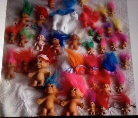 💚💜❤️ troll bundle and pony bundle 38 items