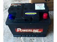 Powerline 12v 075 Car Battery