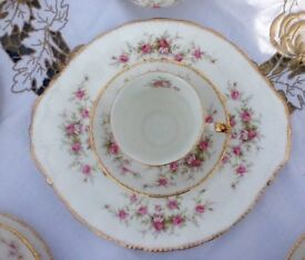 Paragon Victoriana rose, fine bone china tea set