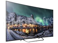 BRAND NEW SEALED- Sony KD-55S8005C curved 4K UHD 3D LED Android TV