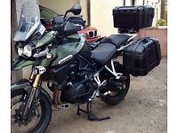 Motor bike panniers