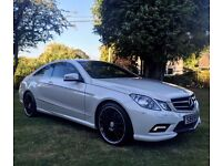 MERCEDES-BENZ E350 COUPE 7G-TRONIC AMG LINE