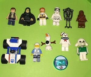 LEGO MINIFIGURES to TRADE! Olaf, Stay Puft, Han, Chewy & more!
