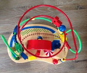 Quality Wood and Metal Traffic Bean Maze Toy London Ontario image 5