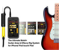 AmpliTube Interface Adapter - Plug your Guitar into your iPhone
