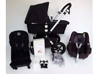 IMMACULATE Bugaboo CAMELEON 3rd generation! Now in shops! Inc Maxi Cosi+Adapters