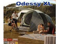 New 4 man tent Odessy xl
