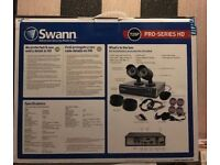 SWANN SECURITY SYSTEM 720p HD CCTV BOXED AS NEW MUST GO!!