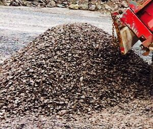 Gravel, garbage removal, top soil and mulch