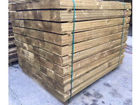 🌲PRESSURE TREATED FEATHER EDGE FENCING PIECES/ BOARDS/ PANELS * VARIOUS SIZES AVAILABLE *