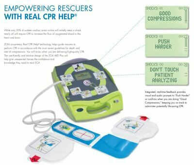 Zoll Aed Plus Defibrillator With Real Cpr Help Technology - New