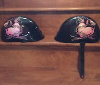 2 womans cruiser helmets