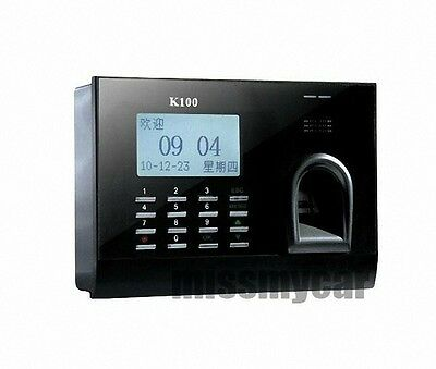 New Biometric Employee Attendance Time Clock And Pc Management Software Mms