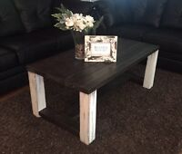 Brand New locally made rustic coffee table