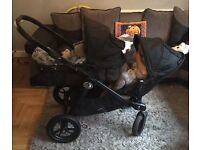 City jogger select pram double and single