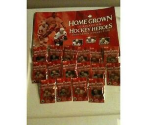 Unopened Complete Set of 20 Homegrown Hockey Heroes Pins